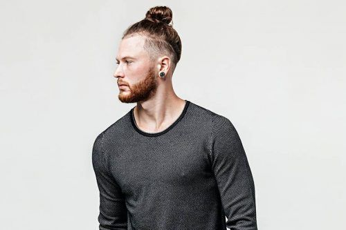 How To Make The Perfect Man Bun In 3 Easy Steps