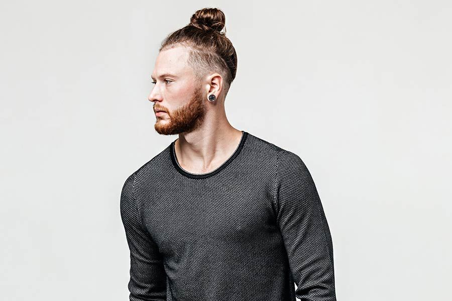 How To Do A Man Bun In 3 Easy Steps