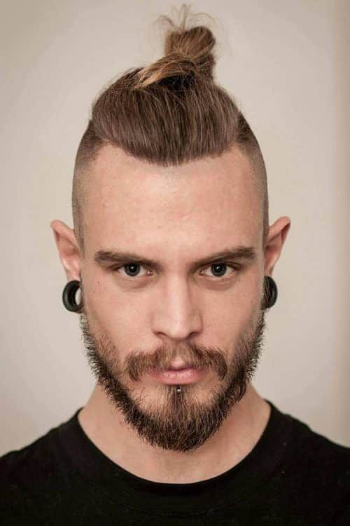 Top Knot Style #vikinghaircut #vikinghairstyles