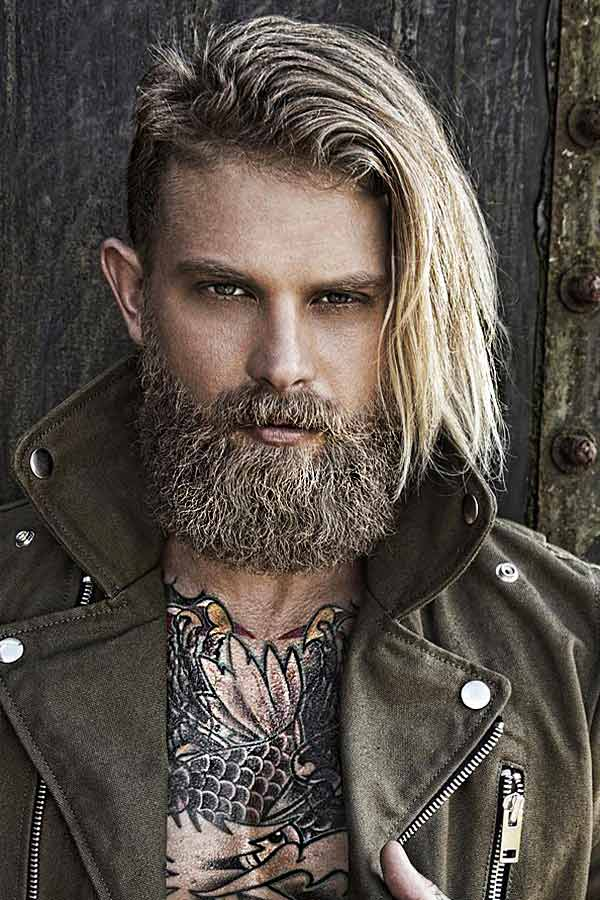 Undercut With Long Bangs #undercut #longbang #vikinghairstyles