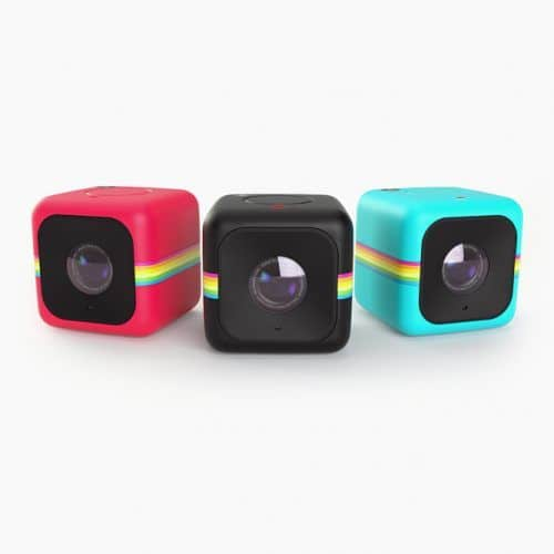 Polaroid Cube 1440p Mini Lifestyle Action Camera With Wi Fi Image Stabilization Black #christmasgifts