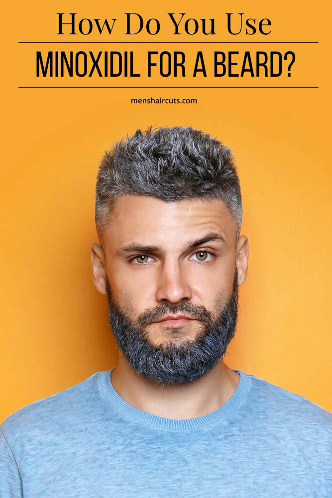 How Should Minoxidil Be Applied To My Face #howtogrowabeard #facialhair #menshaircuts