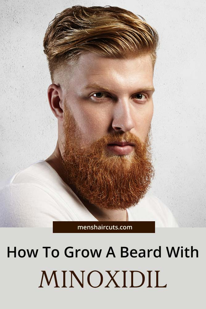 Using Minoxidil For Beard Growth #howtogrowabeard #facialhair #menshaircuts