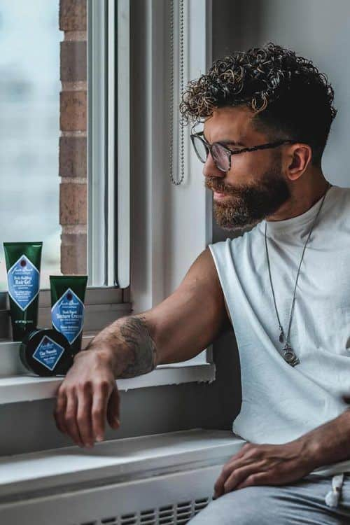 Low Maintenance Steps For Morning Beard Care #bestbeardoil #beardcareproducts #facialhair