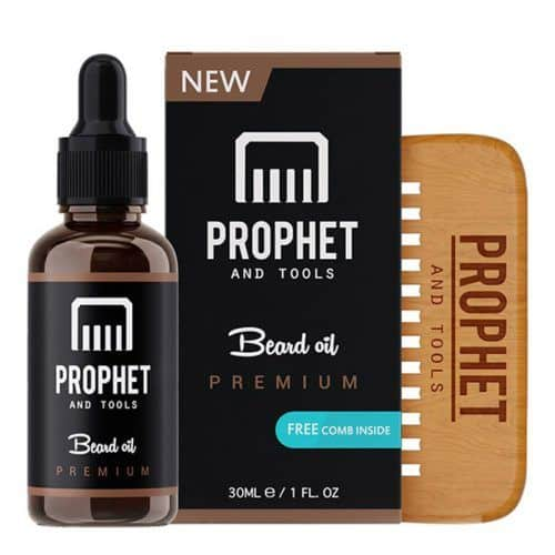 Prophet And Tools #bestbeardoil #beardcareproducts #facialhair #prophetandtools