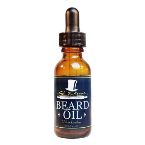 St Pierres Beard Oil Urban Cowboy #bestbeardoil #beardcareproducts #facialhair #stpierresbeardoil