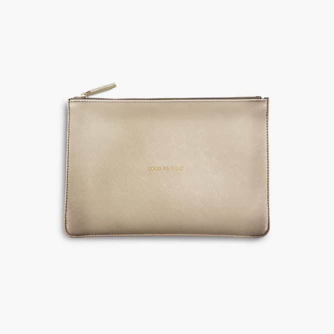 The Perfect Pouch Gold #birthdaygifts