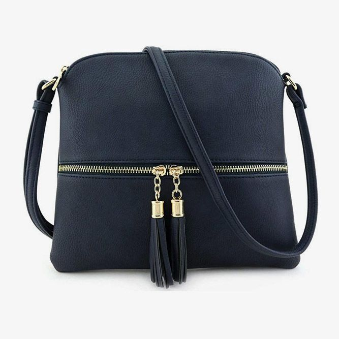 Medium Crossbody Bag With Tassel (Handbagfashion) #birthdaygifts