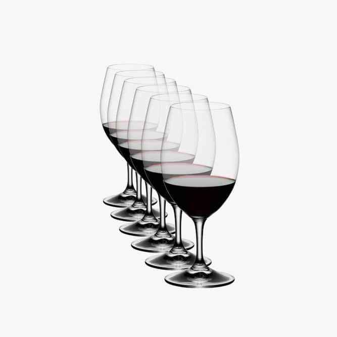 Red Wine Glass Set of 6 #birthdaygifts