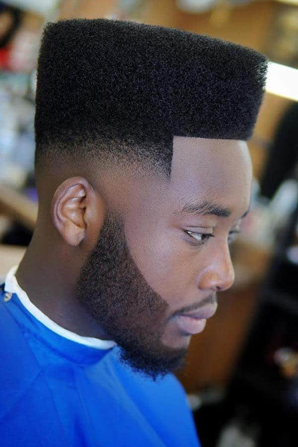 High Top And Mid Fade #fadehaircut #blackmenhaircuts #burstfade #mohawk #afrohair #afroamericanhaircuts #midfade