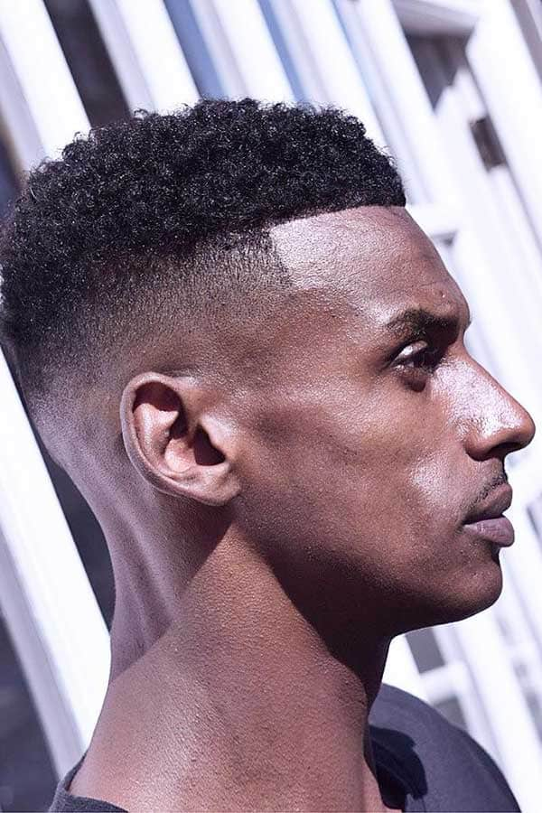 High Fade And Sponge Curls #fadehaircut #blackmenhaircuts #burstfade #mohawk #afrohair #afroamericanhaircuts #highfade
