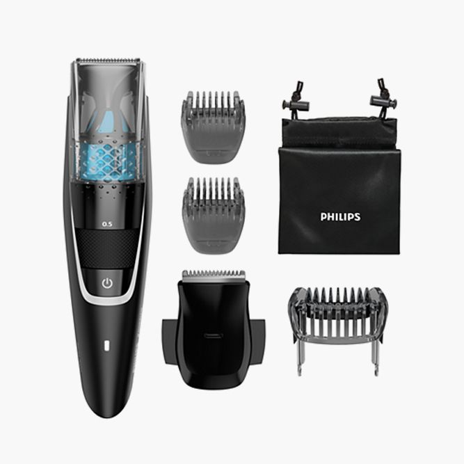 Never Stop Trimming With Beard Trimmer with Vacuum BT722549 Black (Philips ) #howtogrowabeard #facialhair #menshaircuts