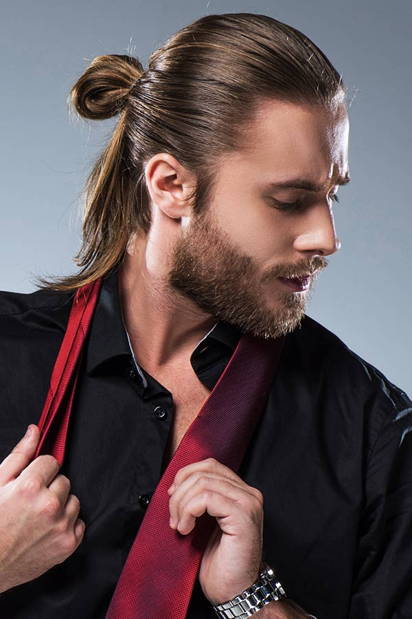 Man Bun #howtogrowhair #longhairmen