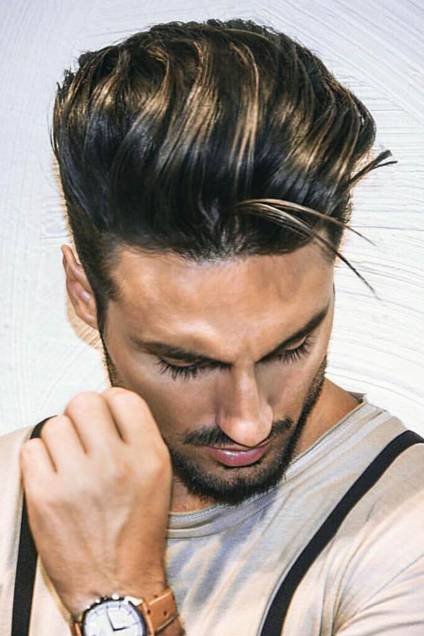 Long Hair On The Top #howtogrowhair #longhairmen