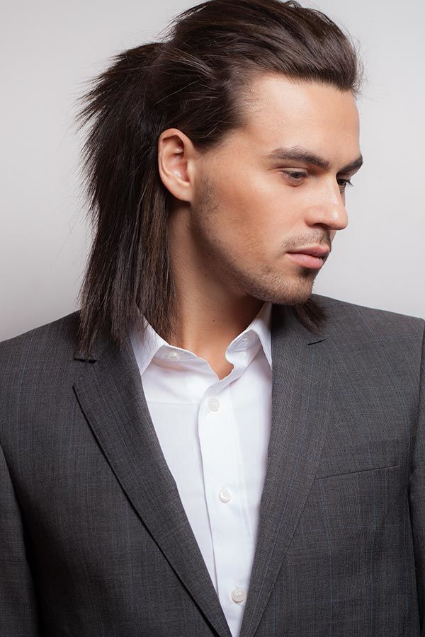 Simple Half-Up #howtogrowhair #longhairmen