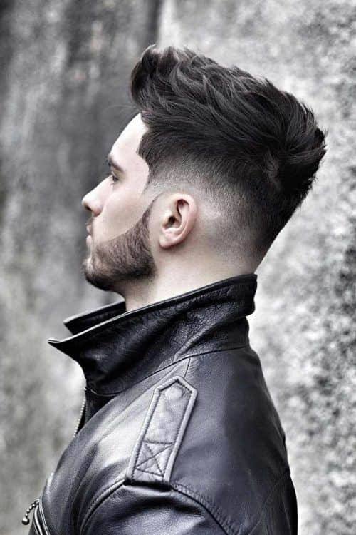 Straight Textured Hair #layeredhaircutsformen #menshaircuts #shortmensthaircuts #texturedhair #fadehaircuts