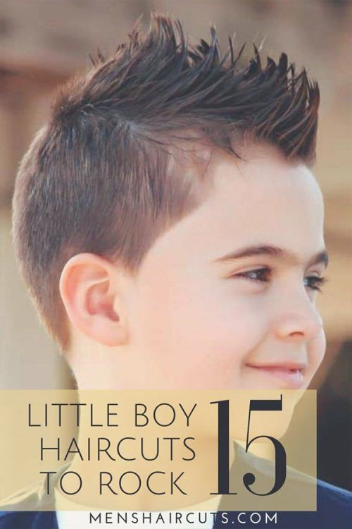 Cute Little Boy Haircuts for 2019: Fades, Pomps, Lines And More