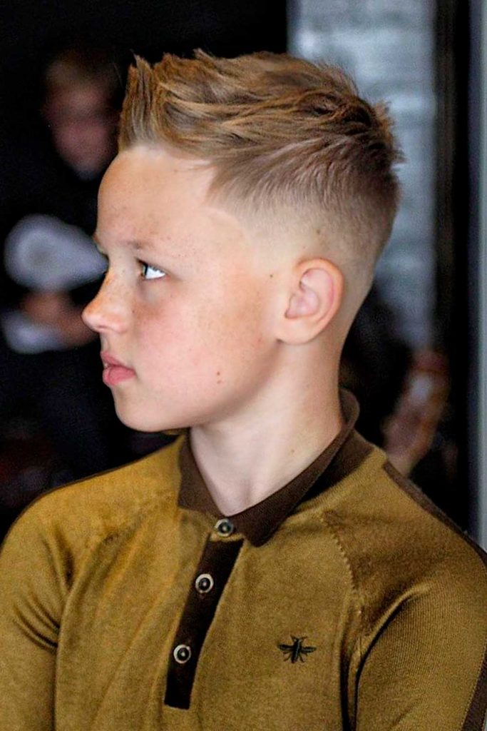 Ivy League + Spiked Front #boyshaircuts #littleboyhaircuts #todlerboy #boyshair #todlerboyhair