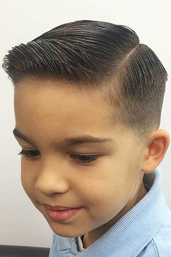 Side Part #boyshaircuts #toddlerhaircuts #sidepart