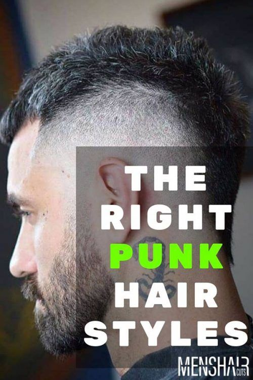 The Right Punk Hairstyles For Guys To Suit Your Lifestyle