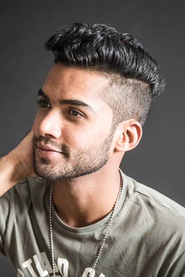 Short Sides Long Top Hairstyles #shortsideslongtop #menshaircuts