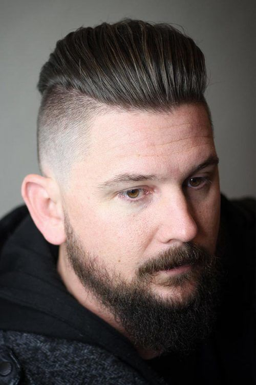 Disconnected Undercut Hairstyles #shortsideslongtop #menshaircuts