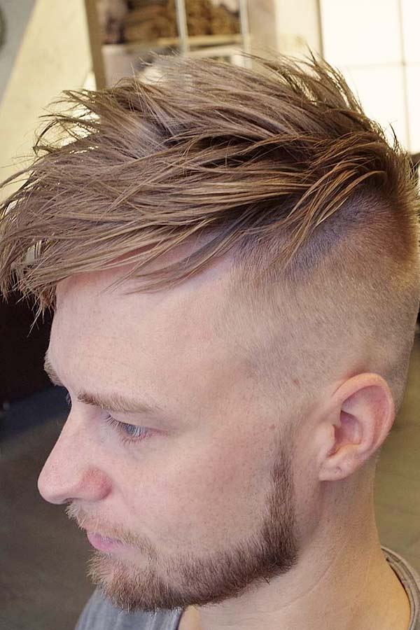 Short On Sides Long On Top #spikyhairstyles #spikyhair #menshaircuts #shortmenshaircuts