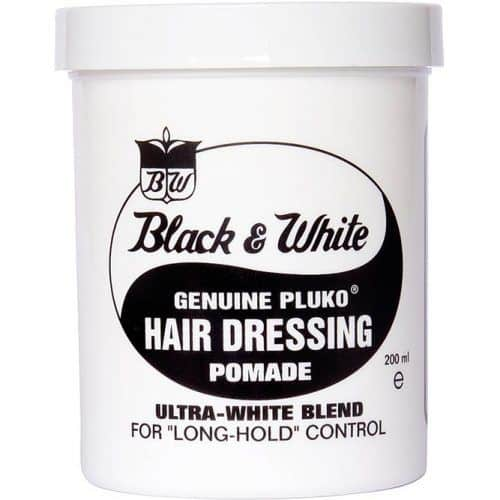Black And White Hair Dressing Pomade #pomade #bestpomade #menspomade