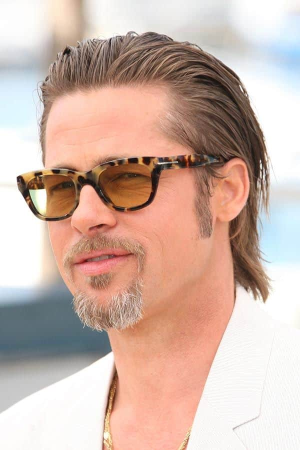 Brad Pitt Fury Haircut Ideas To Pull Off Menshaircuts Com