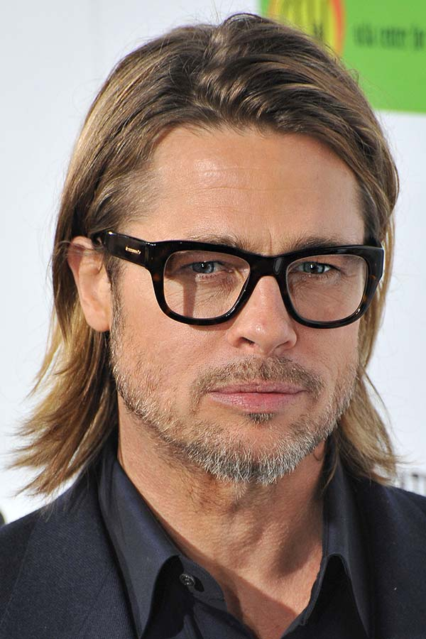 How To Get Brad Pitt's Hair #bradpittfuryhaircut #bradpitt