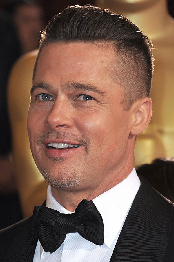What Should You Ask Your Barber For? #bradpitt #fury #undercut #skickedbackundercut