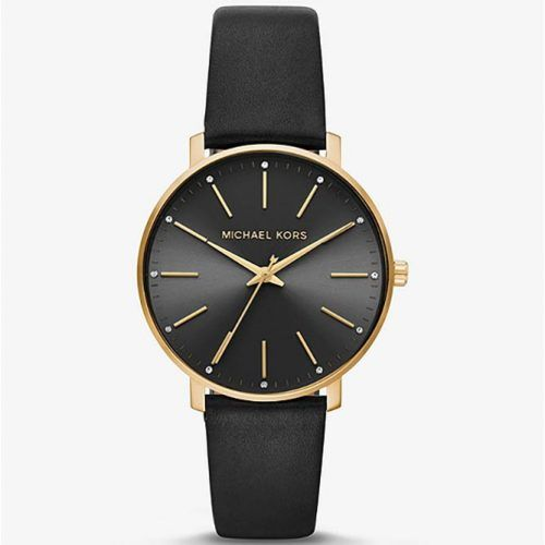 Michael Kors Leather Watch #christmasgifts #giftsforher #christmaspresent