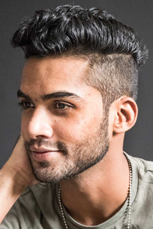 How to Style Curly Undercut At Home #undercut #curlyundercut #curlyhair #curlyhairmen