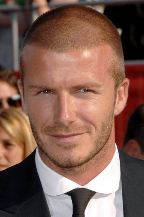 David Beckham Buzz Cut #buzzcut #davidbeckham #celebs #celebrities