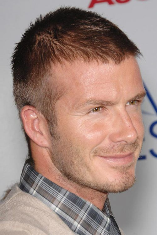 David Beckham Crew Cut  #crew cut #davidbeckham #celebs #celebrities