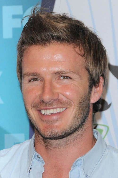 David Beckham Faux Hawk #fauxhawk #davidbeckham #celebs #celebrities