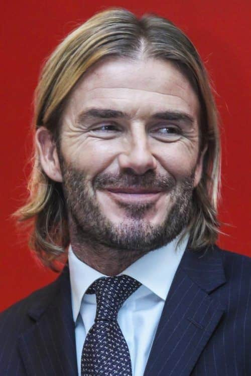 David Beckham Long Hair #menslonghairstyles #davidbeckham #celebs #celebrities