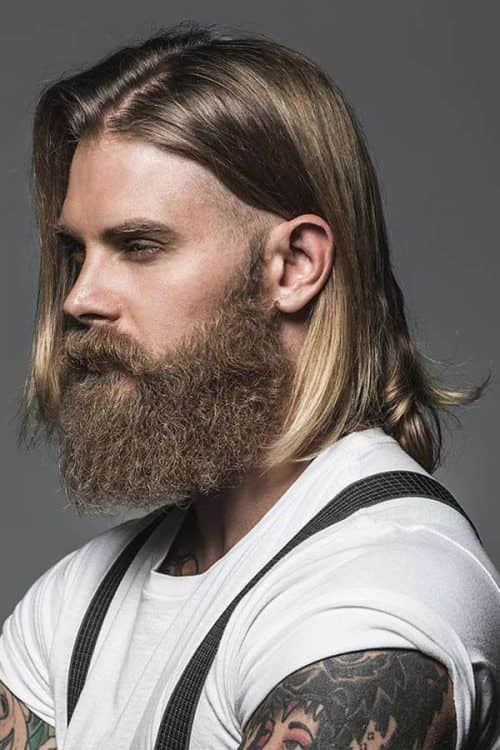 How To Get The Look #menslonghairstyles #longhairmen #blondehairmen