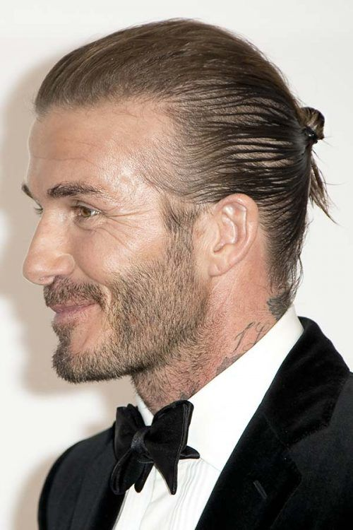 David Beckham Man Bun #manbun #davidbeckham #celebs #celebrities