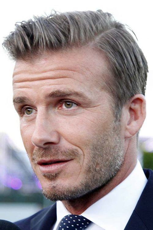 David Beckham Side Part #davidbeckham #celebs #celebrities #sidepart