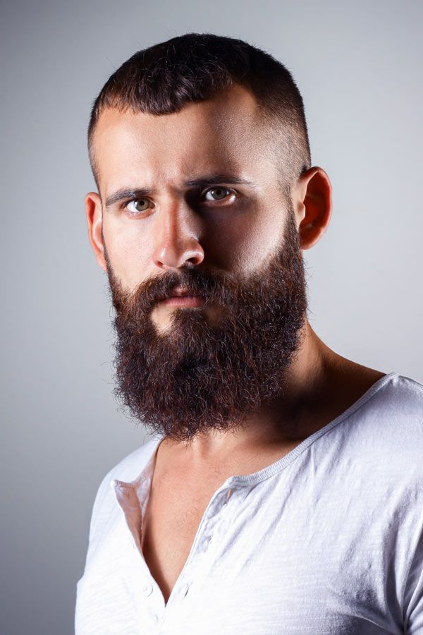 High And Tight Long Beard #fullbeard #beardstyles #beardtypes