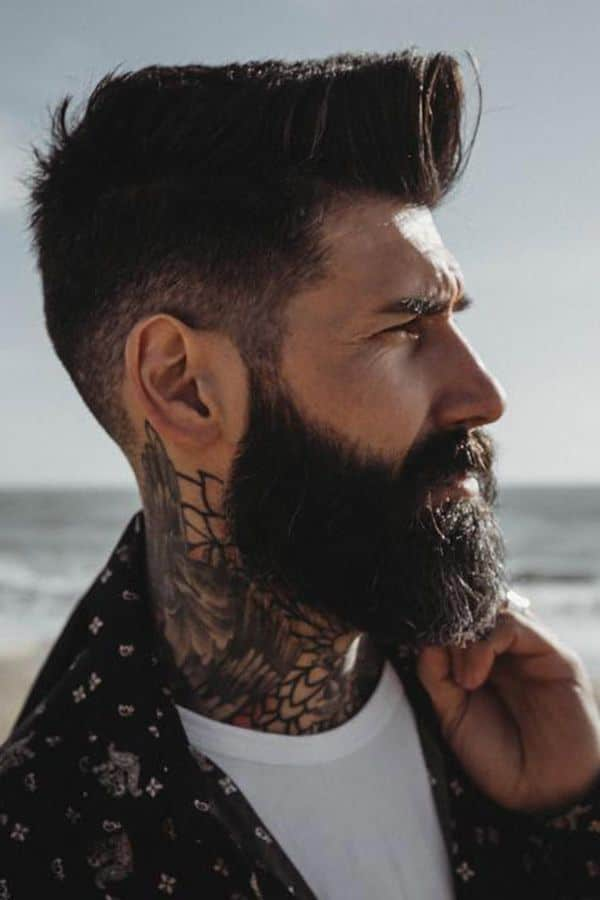 Popular Full Beard With Mustache #fullbeard #beardstyles #beardtypes #facialhair #mustache