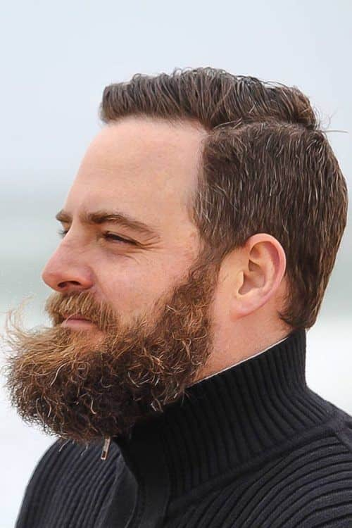 How To Trim A Beard #fullbeard #beardstyles #beardtypes #facialhair #taperedhaircut
