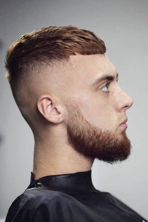 Modern Medium Length Full Beard #fullbeard #beardstyles #beardtypes #facialhair #undercut #texturedtop