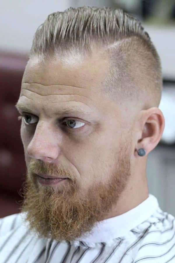 Beard For Men With Thin Hair #menshairstyles #menshairstylesforthinhair #fadehaircut #menshairstyles