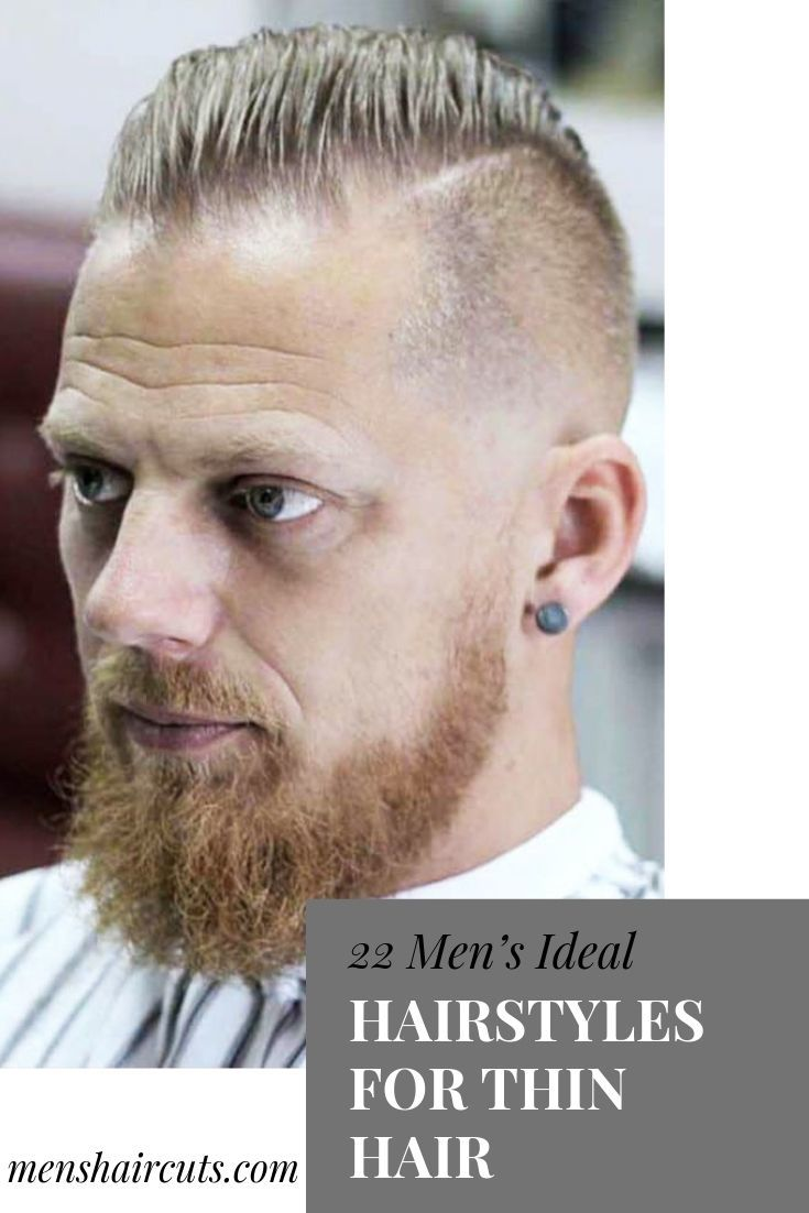 Men's Ideal Hairstyles For Thin Hair