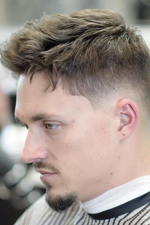Tips For Men With Thin Hair #menshairstyles #menshairstylesforthinhair #fadehaircut
