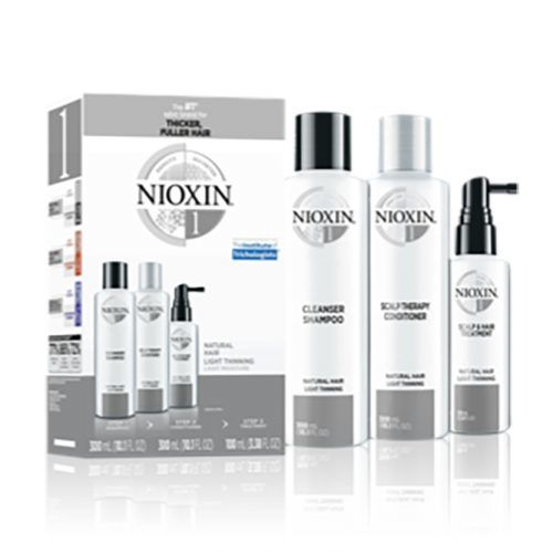 NIOXIN System 2 For Natural Hair With Progressed Thinning #thinhair