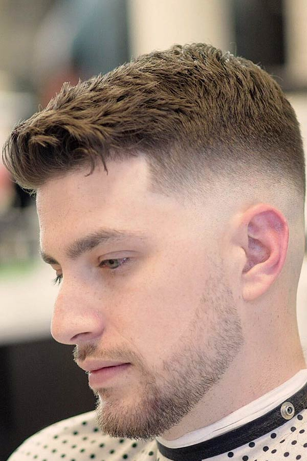 Haircut For Short Hair #menshairstyles #menshairstylesforthinhair #fadehaircut