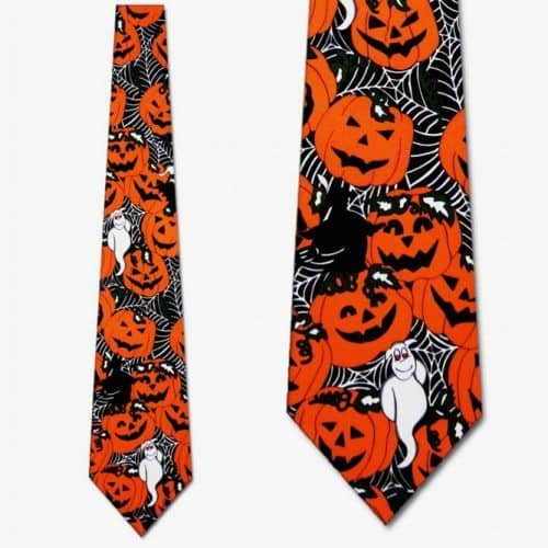 Halloween Ghouls Necktie #ties #mensties #tiesformen #suitaccessories